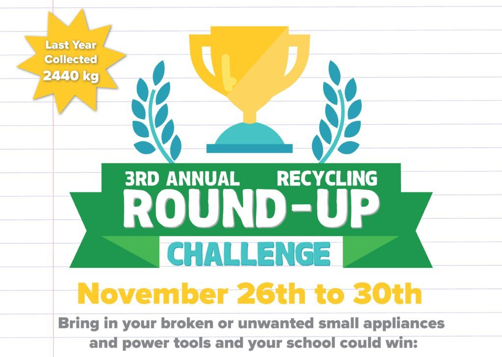Third recycling school challenge in Delta