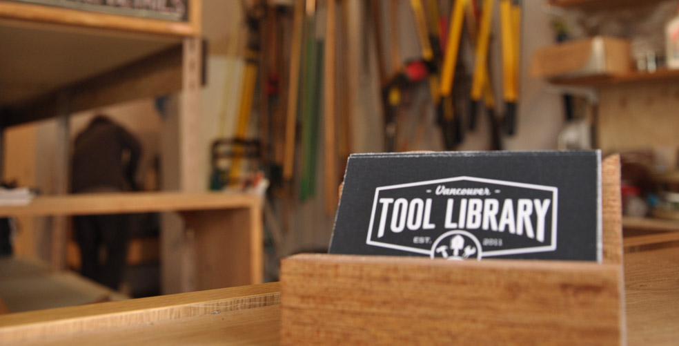 The Vancouver Tool Library, a lending library of tools and supporter of the circular economy