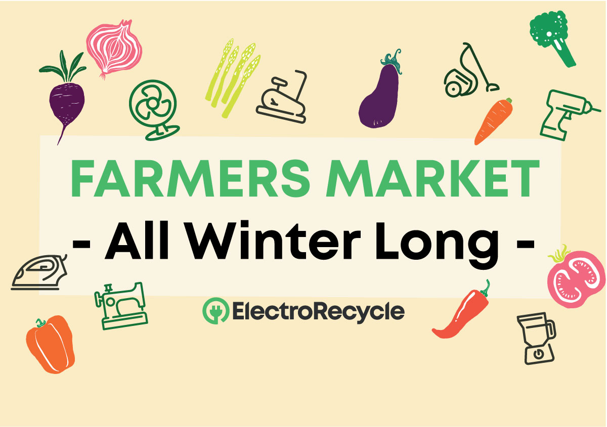 Winter farmers market poster