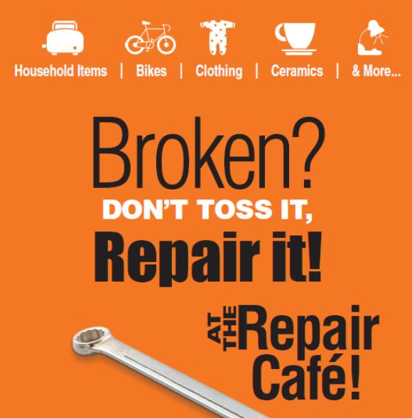 Kelowna repair cafe poster