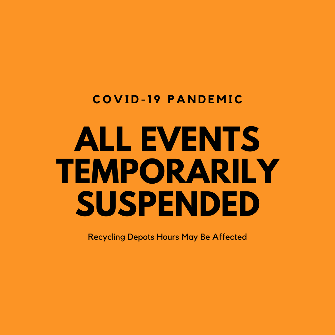 COVID19 events temporarily suspended