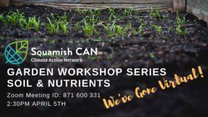 Squamish CAN Garden Workshop Event