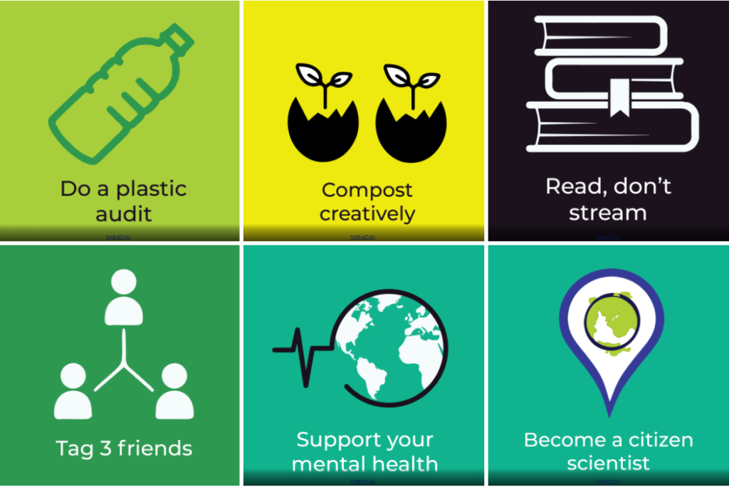 Earth Day Green Action Challenge