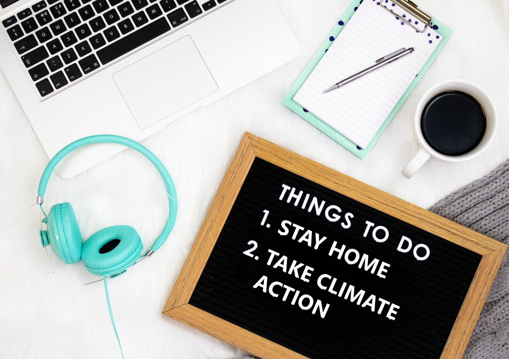 To do list at home for earth day